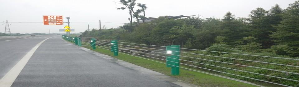 公路缆索护栏